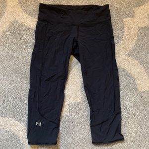 Under Armor cropped leggings, size M
